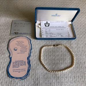 Mikimoto Cultured Pearls